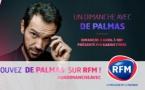 Karine Ferri reçoit De Palmas sur RFM