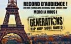 Generations : 1ère radio régionale francilienne