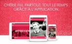 Une nouvelle application pour Chérie FM Belgique