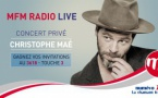 Nouvel MFM Radio Live avec Christophe Maé