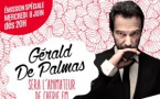 Gérald de Palmas animateur sur Chérie FM