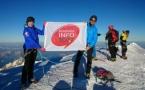 Les 25 ans d'Autoroute Info au sommet du Mont-Blanc