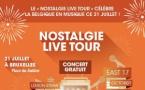 """Le """"Nostalgie Live Tour"""" célèbre la Belgique"""