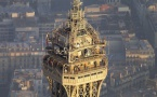 TDF : travaux d'été sur les installations de la Tour Eiffel