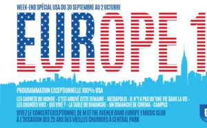 Week-end américain sur Europe 1