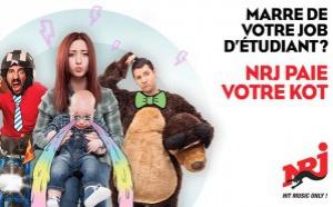 NRJ Belgique paie un kot pendant 1 an