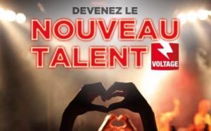 """Voltage recherche le """"Nouveau Talent Voltage"""""""