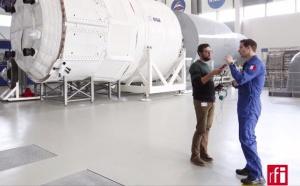 RFI accompagne Thomas Pesquet dans l'espace