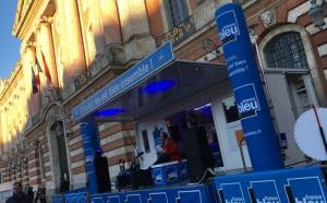 France Bleu Toulouse en direct du marché de Noël