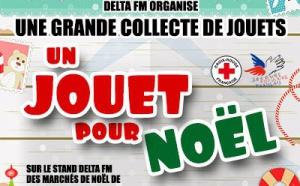 Delta FM organise une collecte de jouets de Noël