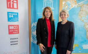 France Médias Monde et l'Unesco renforcent leur coopération