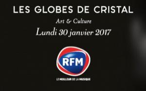 RFM partenaire des Globes de Cristal 2017