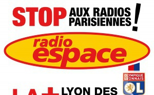 Radio Espace en campagne à Lyon