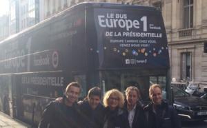 Le Bus Europe 1 a pris la route de la Présidentielle