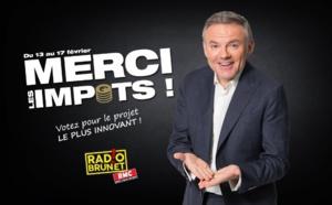 "RMC : ""Radio Brunet"" présente ""Merci les impôts"""