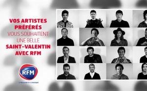 RFM réunit 15 artistes pour la Saint-Valentin