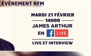 RFM Session VIP avec James Arthur
