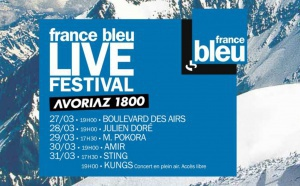 France Bleu Live Festival à Avoriaz