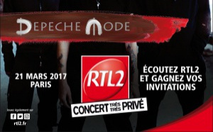 """""""Concert Très Très Privé"""" de RTL2 avec Depeche Mode"""