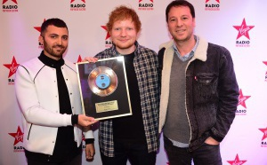 Virgin Radio a reçu Ed Sheeran