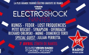 "Nouvel ""ElectroShock"" proposé par Virgin Radio"