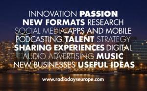 Announcing the start of Radiodays Europe 2017