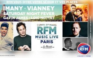 RFM organise un RFM Music Live à Paris
