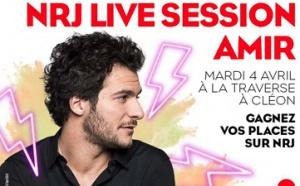 """Un """"NRJ Live Session"""" avec Amir à Rouen"""
