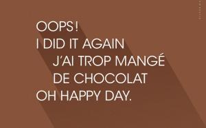 Nostalgie Belgique distribue 3 tonnes de chocolat