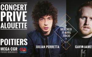 Nouveau concert privé proposé par Alouette