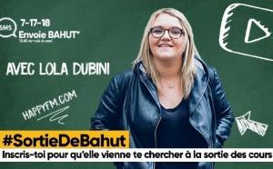 """Happy FM : Lola Dubini à la"""" Sortie de Bahut"""""""
