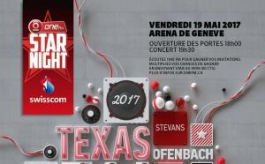 One FM Star Night déroule son tapis rouge à Genève