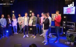 """VIINI remporte le concours """"NRJ Talent 2017"""""""