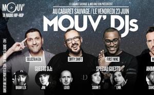 Une soirée Mouv' DJs en direct du Cabaret Sauvage