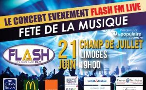 Flash FM célèbre la Fête de la Musique