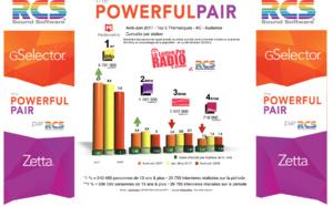 Diagramme exclusif LLP/RCS GSelector 4 - TOP 5 radios Thématiques en Lundi-Vendredi - 126 000 Radio Avril-Juin 2017
