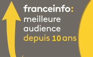 franceinfo : meilleure audience depuis 10 ans