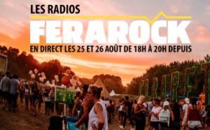Les radios Ferarock en direct du Cabaret Vert