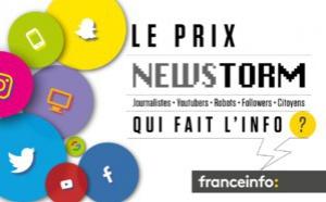 franceinfo lance son Prix Newstorm