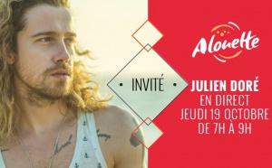 Julien Doré attendu dans les studios d'Alouette