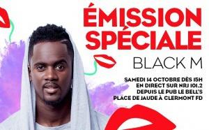 NRJ invite Black M à Clermont-Ferrand