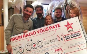Virgin Radio : 10 000 euros à gagner chaque matin