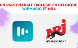 NRJ et Wipmusic : un partenariat exclusif en Belgique