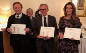Éric Brunet reçoit le Prix Roland-Dorgelès