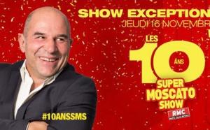 """RMC : """"Le Super Moscato Show"""" fête ses 10 ans"""