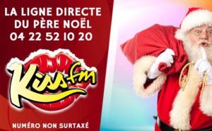 """Kiss FM active une ligne directe """"Père Noël"""""""