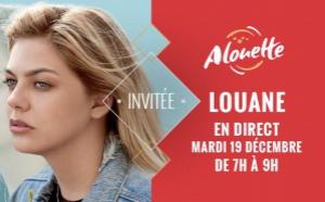 Alouette reçoit la chanteuse Louane