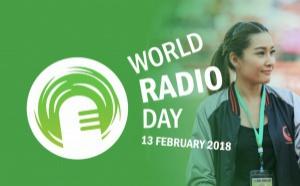 La Journée mondiale de la radio, ce sera le 13 février