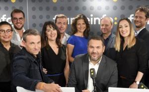 L'équipe de la Matinale de franceinfo © Christophe Abramowitz / Radio France