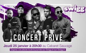 Swigg organise un concert privé